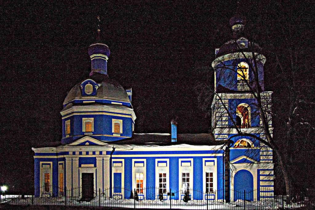 Крещение Господне на приходе Богородицерождественского храма села Богородское